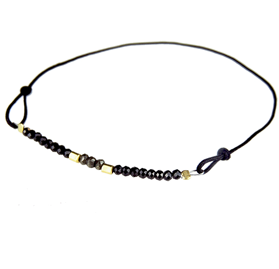 Pulsera Shine black